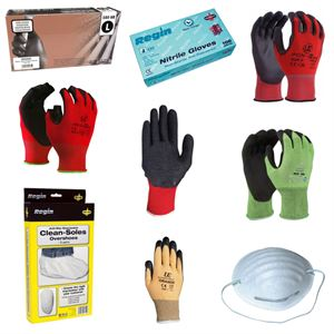 gloves and workwear